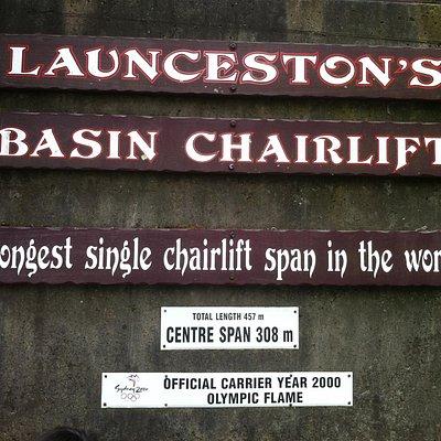 Launceston's Basin Chairlift
