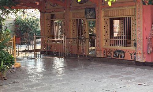 Ashram entrance