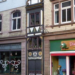 Tysklands näst smalaste hus.