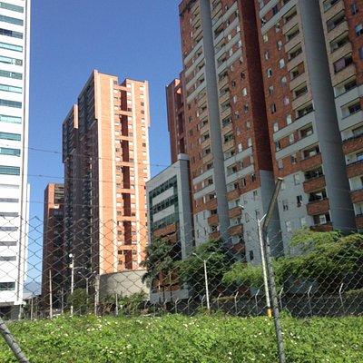 In front of Ciudad Del Rio
