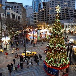 Westlake Christmas tree