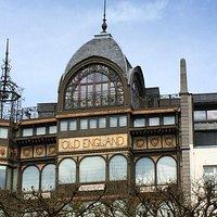 MIM - the Old England building - Horta art nouveau architecture