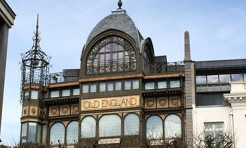 MIM - the Old England building - Horta art nouveau architecture