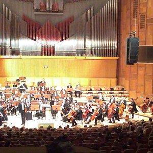 """Concert at Sala Radio (""""Mihail Jora"""" Concert Hall)"""
