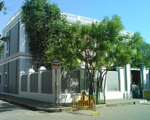 ashram side view