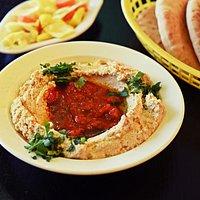Hummus Bar, Lund: Hummus med marockansk *favorit bland många*