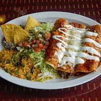 My Food Order at El Taco Riendo