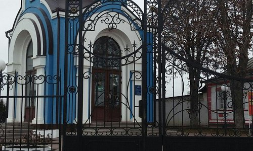 Храм и часовня с источником