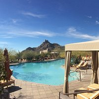 Poolside at the Four Seasons Scottsdale