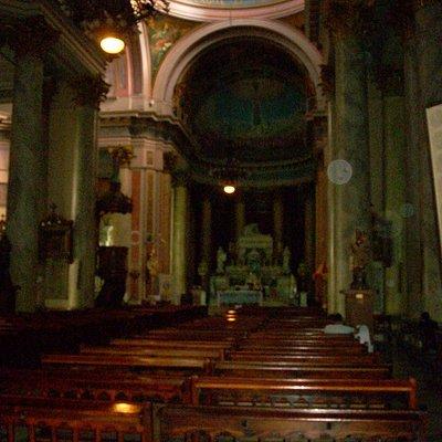 Interior de la misma
