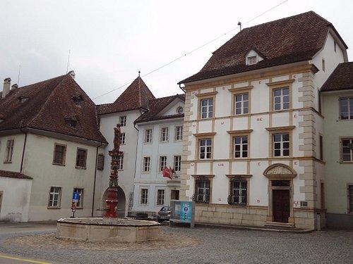 Musée Jurassien Delémont - entrée