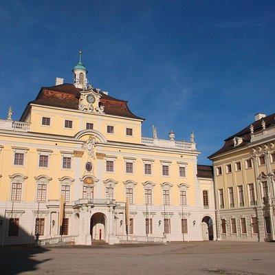 Gebäude der Barockgalerie im Residenzschloss