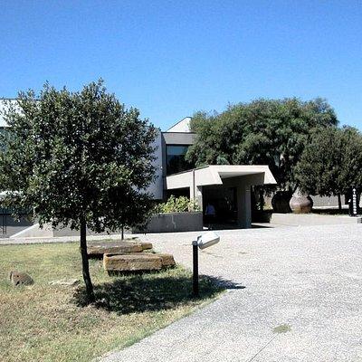 facciata esterna del museo