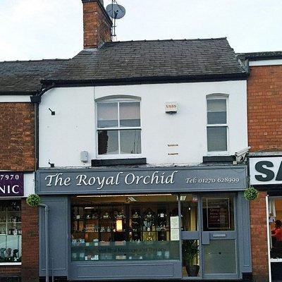 The Royel Orchid Thai massage Nantwich branch.