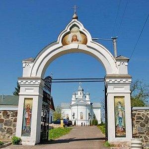 Чудновский монастырь в с.Тригорье под Житомиром