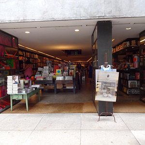 Entrance to the bookstore.