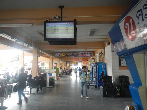 バスターミナルの風景