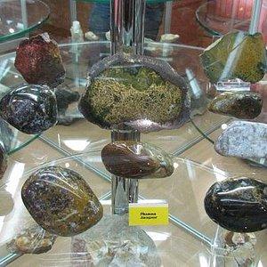 Экспонаты музея - яшма