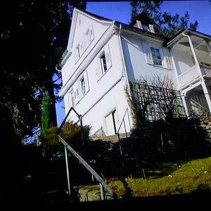 ブラームスの家を仰ぎ見る