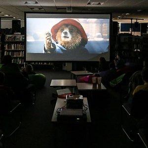 Watching Paddington in October 2015
