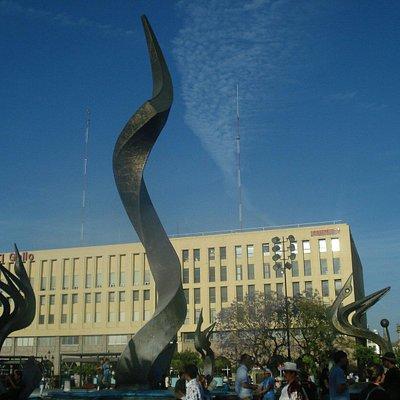 Plaza Tapatia, Guadalajara, México