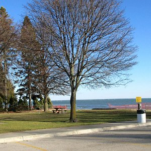 """One of many little """"Pocket Parks"""" in Alpena"""