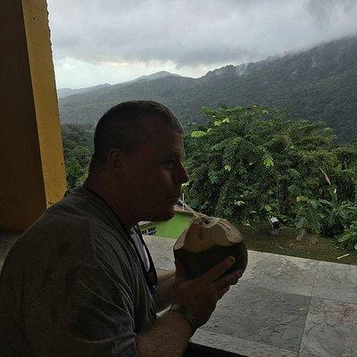 LCDR Joe Byers El Yunque Puerto Rico Coconut