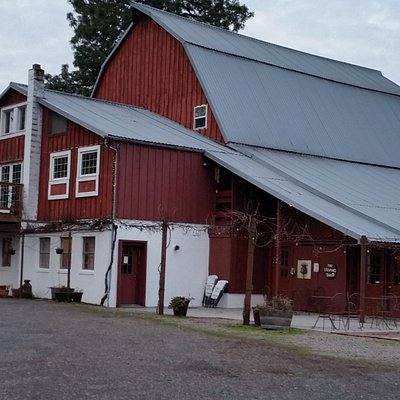 Beautiful barn building