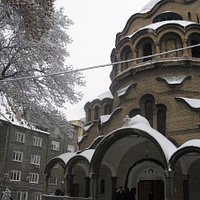 St.Paraskeva cathedral in winter time
