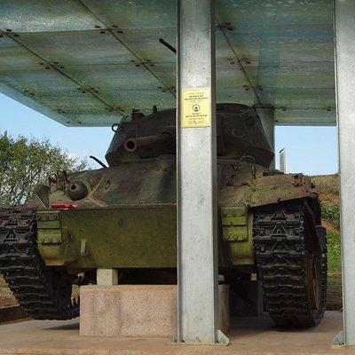 展示されている戦車