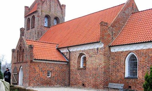 Græse Kirke, set fra sydøst