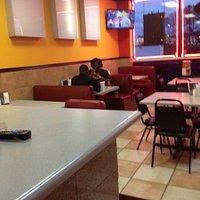 Espaco e tranquilidade para refeicoes