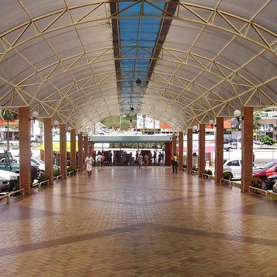 entrada do shopping