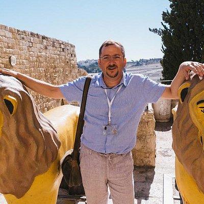 Леонид Метрик - профессиональный экскурсовод в Израиле. Leonid Metrik - tour guide in Israel