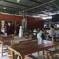 Tables at Pun Pun's