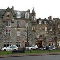 This is The Grant Arms Hotel, Grantown-on-Spey, The Square, GoS. Other picture incorrect!