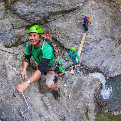The ultimate waterfall adventure! Wildwire Wanaka