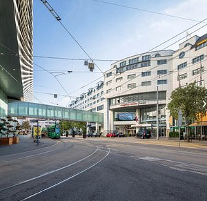 Downtown location, adjacent to Messe Basel