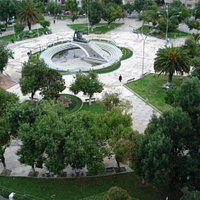 Vista Panorámica de la Plaza Abaroa