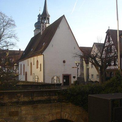 Marienkapelle und St. Martin Turm im Hintergrund