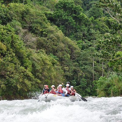 The Savegre River. The cleanest river in Costa Rica!