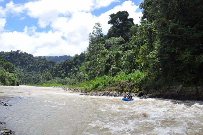 Whitewater rafting on the Savegre River, Quepos, Costa Rica.