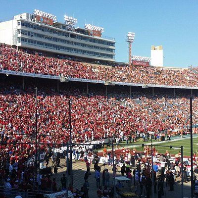 Cotton Bowl view from the Oklahoma side