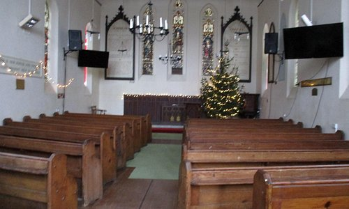 Mariners Church, Gloucester Docks - the alter is at the West end not the traditional east end