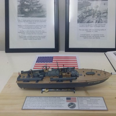 One of the PT boats that fought in the battle