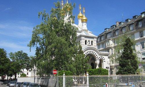 Iglesia Rusa. Ginebra