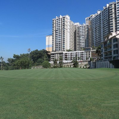 View of green 7