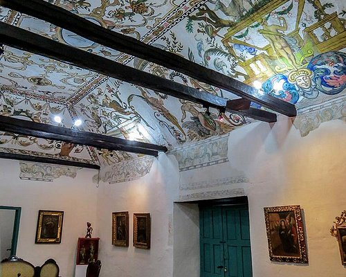 The oldest painted ceilings in the city