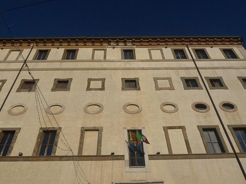 Facciata del palazzo Doria Pamphily