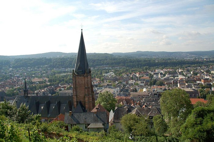 Marburg: view from the Marburg castle